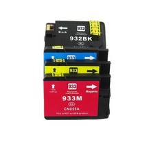 Compatible Ink for HP933 932XL BK/933XL C/933XL M/933XL Y , Officejet 7110 7610 7612 6600