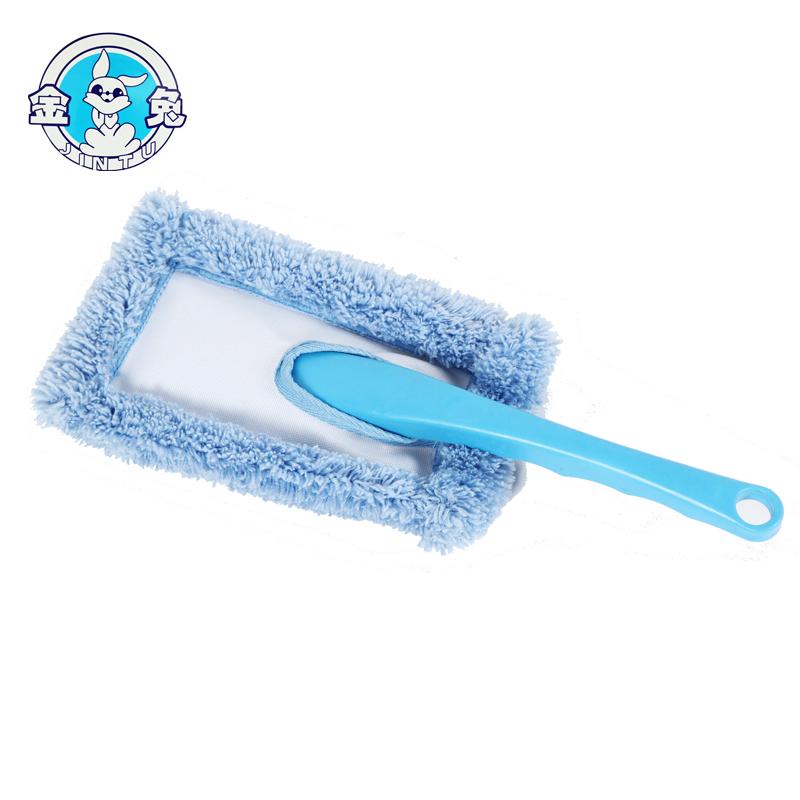 Cabeça de microfibra escova lavagem de carro duster com punho plástico
