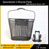 steel bike accessories, wholesale cheap bike basket with quick release