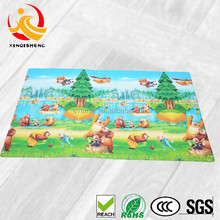 Thick Color Printed Foldable PVC Foam Baby Play Floor Mats