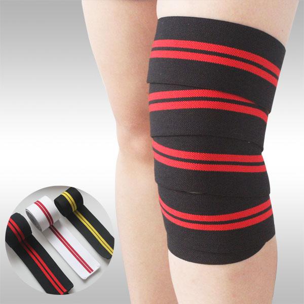 新しい!!! 弾性膝サポートベルト200センチメートル