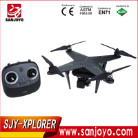 Newest remote control Drone!Zero Explorer Xplorer Pro FPV 5.8G RC Quadcopter For GoPro 3 4 VS DJI PHANTOM SJY-XPLORER