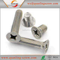 Wholesale goods from china cross recessed countersunk head machine screw