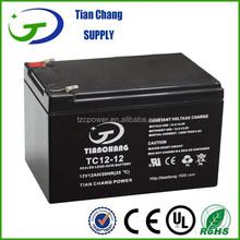 12V 12Ah Lead Acid SLA VRLA Gel Solar PV UPS Battery