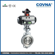 Pneumatic Butterfly Valve For Water, Gas, Acid, Steam (Or Manual/Pneumatic Type)