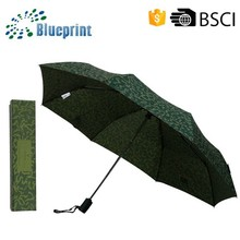 famous brand name wind resistant folding umbrella