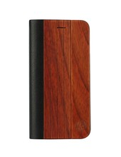 High quantity PU leather case for iphone6,for iphone6 case genuine wood leather, for iphone 6s leather wood case