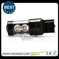Factory price 60W ,Super Bright Fog Tail Turn Brake led driving lights for car ,auto canbus light high power led
