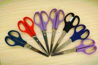 "6-1/2""hot sales high quality economy household scissors, office cutting scissors, paper scissors"
