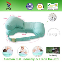 2015 Hany breast feeding pillow with bright outer cover