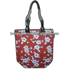 Natural Jute Bag Wholesale with Cotton Strap handles