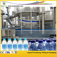 PET Bottled Pure And Mineral Water Bottling Plant/Production Line