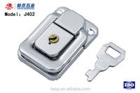 customizable chrome plating box latch,bronze box buckle