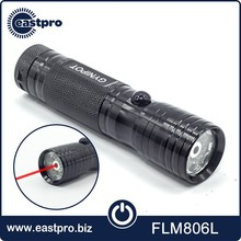Timely service top gifts 3 AAA battery 9 flash light and laser