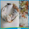 infinity polyester scarf ladies spring scarves