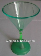 Colorful Decoration LED Plastic Champagne Glass For Bar/KTV/Party/Weddig