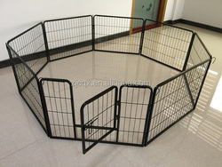 large folding steel dog playpen metal dog fence