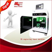 2D & 3D crystal photo maker, laser engraving machine// holy laser