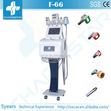 Velashape slimming machine for sell with cavitation and vacuum roller for body and face