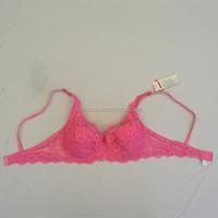 new arrive all lace with thin sponge plus size big wowen's bra