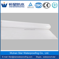 1.2mm/1.5mm/2mm pre-lay self-adhesive hdpe waterproof membrane