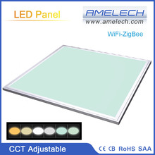 36W Color Temp Adjustable ZigBee Light Control Hanging Ultra Thin LED Light Panel
