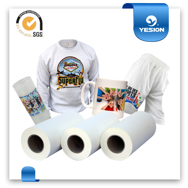 Yesion 2015 Hot Sales ! A4 A3 Sheet Size Best Transfer Rate>98% T-shirt Sublimation Transfer Paper, Heat Transfer Paper