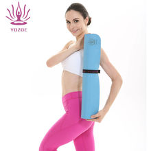 Anti-slip natural rubber adult yoga mat