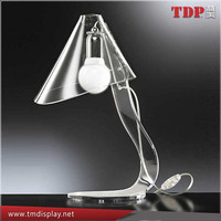 clear plexiglass Lucite Table lamp design,Modern Design Clear Table Lamp