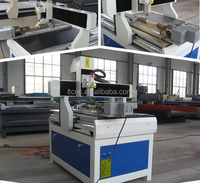 China hot sale &Cheap 600*900*150mm mini 6090 cnc router 4 axis with rotary axis