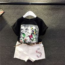 Compassionate Kids Girls T-shirt AA063 decals take fashion casual pants