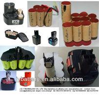 Black & Decker power tool rechargeable battery pack sc3000mah 18.0v