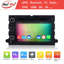 """2 Din 7"""" Car Stereo With Radio BT Wifi DVB-T Navigation System For Mustang HuiFei Brand"""