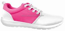 Zapatos de la señora barato sport shoe venta al por mayor del estilo del negocio