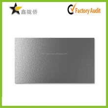 2015 Accept custom high end fancy silver metal visit card blank