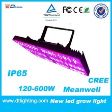 IP65 Outdoor Meanwell Driver 600W LED Grow Lighting With UL CE ROHS