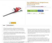 Sanli 600Kw Hedge Trimmer