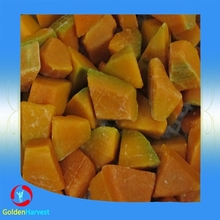 2015 Best selling bulk Frozen pumpkin chunk vegetable for export
