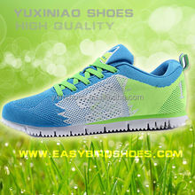 high quality men sport running shoes sneakers brand, male fly fabric sport shoe running made in jinjiang