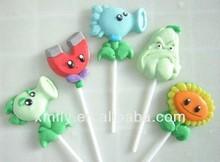 Plants Vs Zombies Shape animal shape gummy lollipop candy