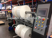 foam tape slitting machine, foam tape slitter, foam tape slitter rewinder