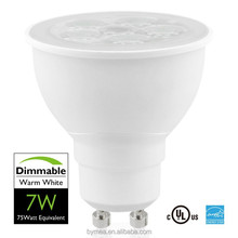 2015 LED Spotlight, COB/SMD GU10, Dimmable ,7.5W/500lm, PF>0.9, Warm/Cool White