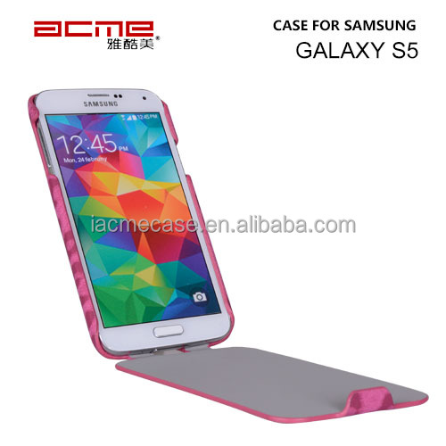 Ultra-Durable leopard style S5 case PU leather cover for samsung Galaxy S5