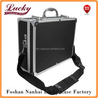 Deluxe Small Hard Shell Case With Extra Protected Foam For Cameras, Camcorders, Photo / Video and Photograpic Equipment