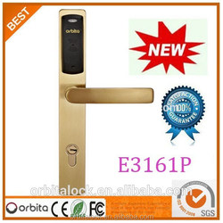 Golden color promixity card electronic key door lock