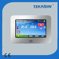 [TEKAIBIN] HT10.16 hot sale digital color touch screen programmable thermostat automation thermostat digital timer