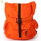 Moda durável laranja oxford bolsa de viagem dobrável