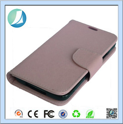 china new cell phone Leather Wallet case for samsung galaxy s5