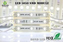 White RGB 3pcs 0.72W 12V 5050 2835 5630 SMD LED Module Wholesale alphabet letter Prefabricated Houses