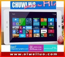 original Chuwi Hi8 Dual Boot Tablet PC Intel Z3736F Quad Core 2GB 32GB 8 inch 1920x1200 Bluetooth 4.0 Windows8.1 Android 4.4